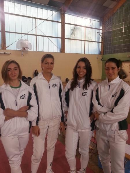 Escrime Ligue Cadet Beaumont 2014.11 1