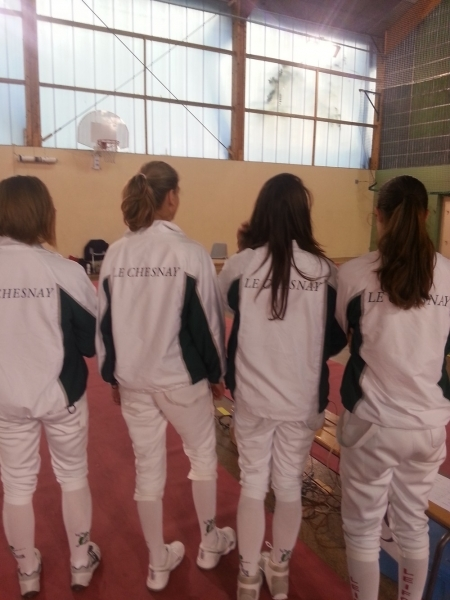 Escrime Ligue Cadet Beaumont 2014.11 2